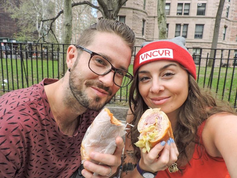 Craig and Gemma New York Sandwiches_