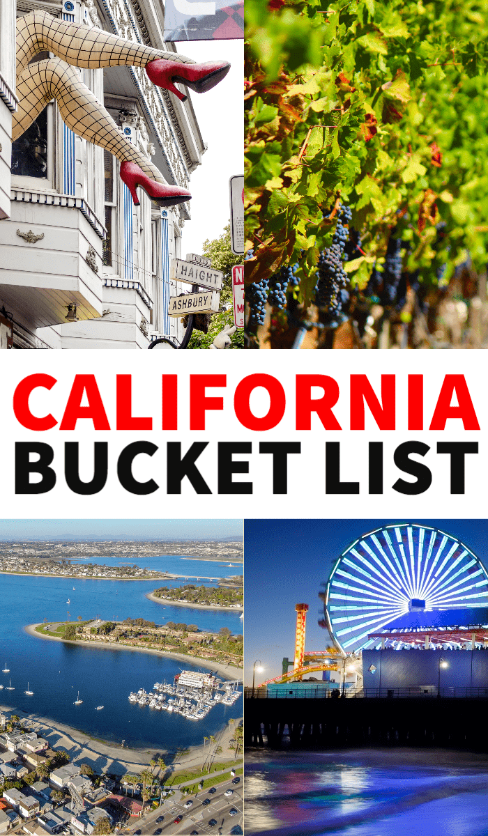 California bucket list, things to do in California, California travel tips, Instagram California, California travel destinations, California road trip, California towns, California attractions, California waterfalls, San Francisco, San Diego, LA, Los Angeles, San Jose
