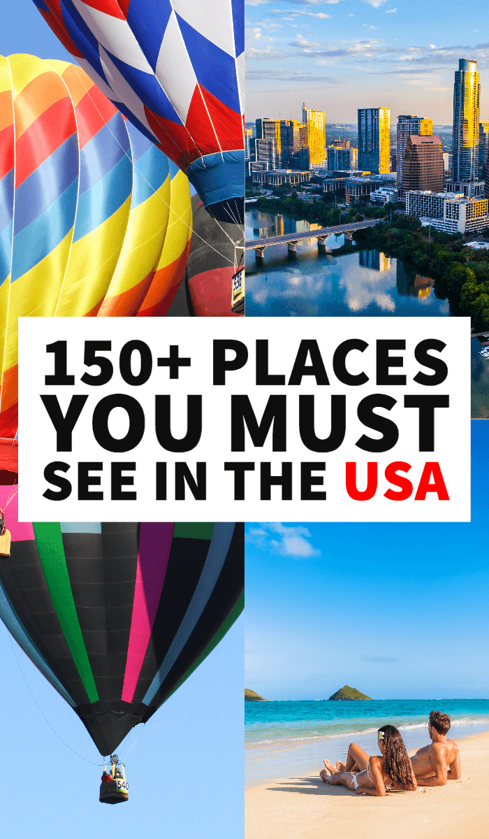 USA bucket list, things to do in USA, best places to see in the USA before you die, America bucket list, must-see USA, USA destinations, USA itineraries, places to visit in the USA, USA bucket list challenge, places to visit in the US, US, road trip, US weekend getaways, places to visit in the US as a couple, USA for families