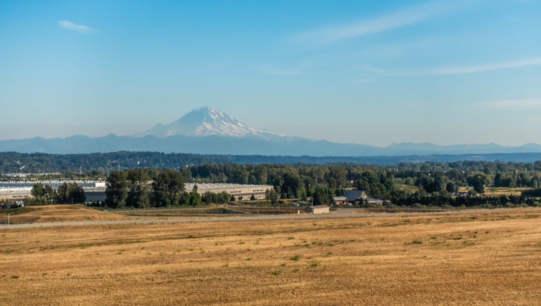 View of Mount Rainer from Kent
