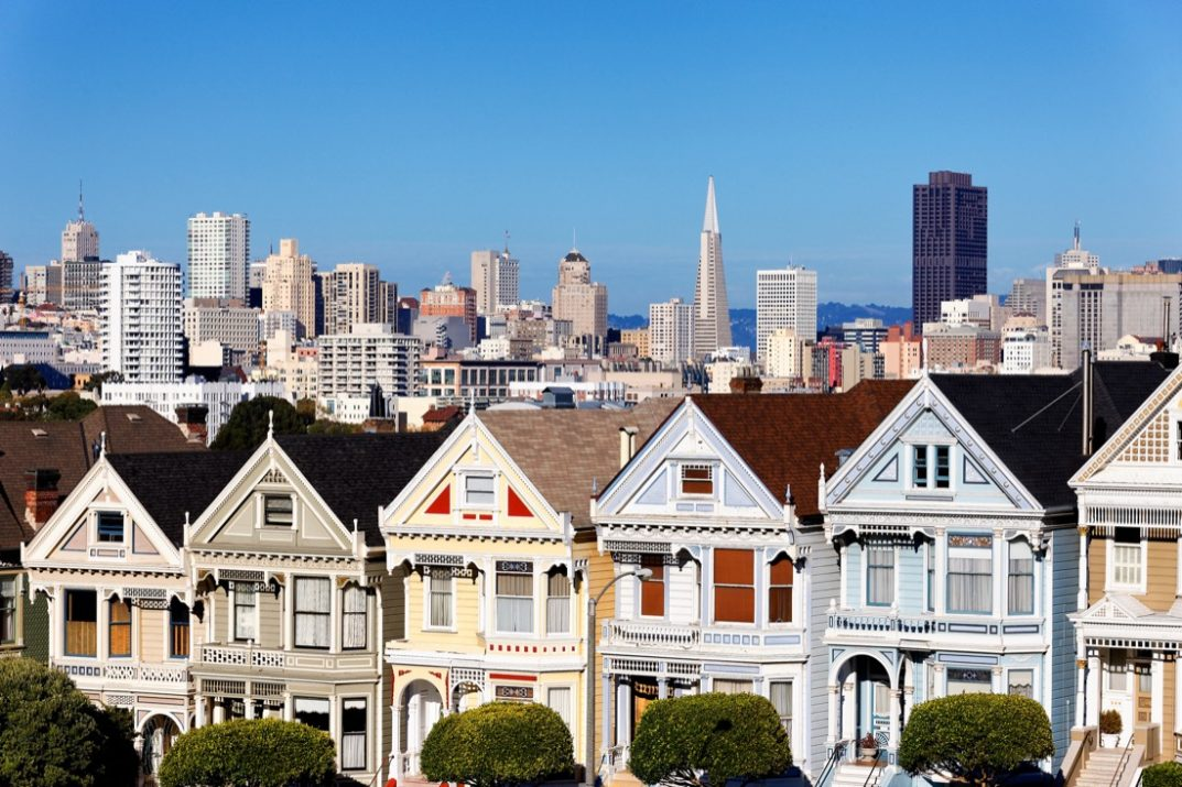 Airbnbs in San Francisco Painted Ladies Colorful Houses San Francisco