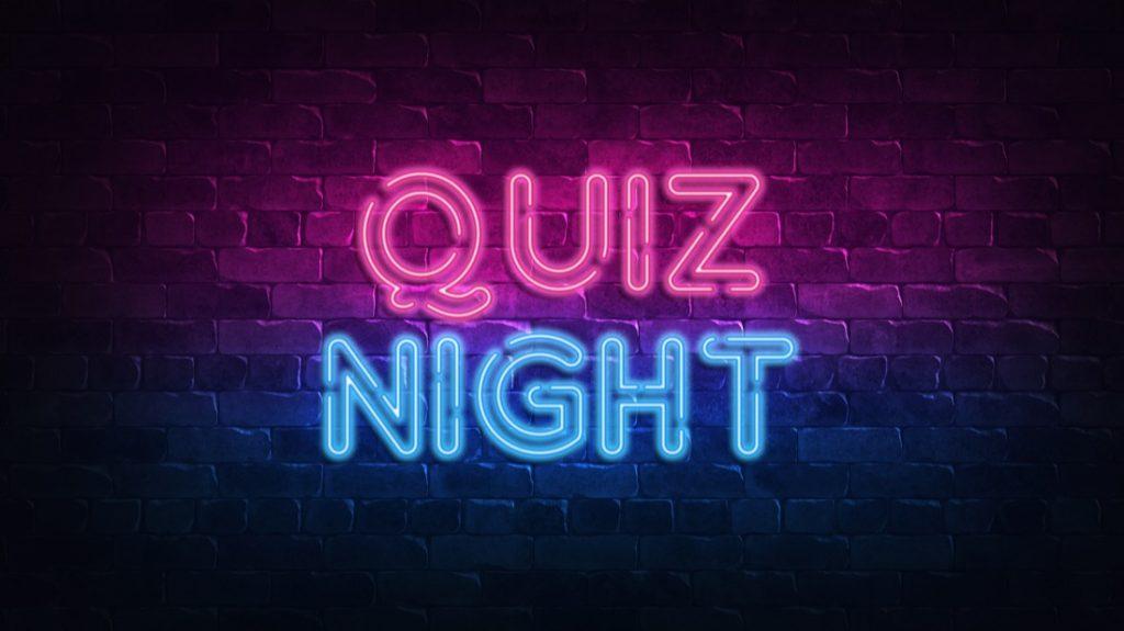 Quiz Night Sign
