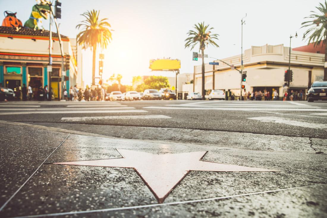 Walk of Fame Star Los Angeles California