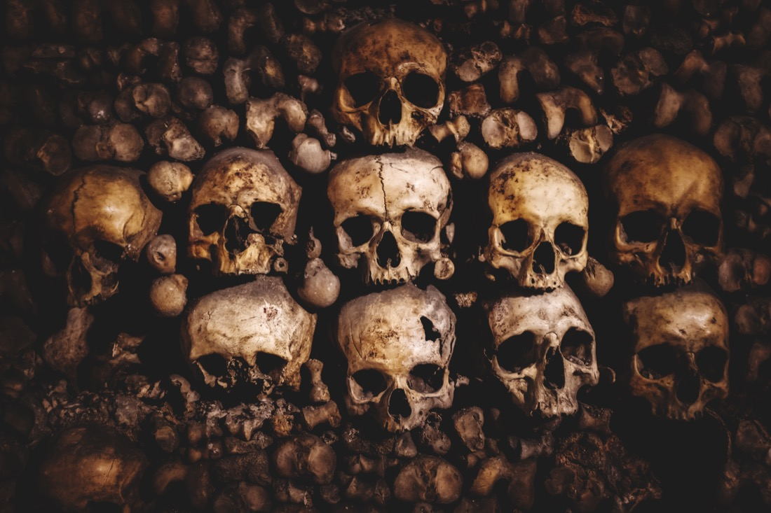 Paris Catacombs France