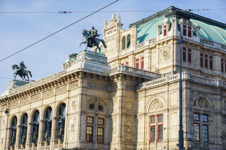 Airbnb in Vienna Vienna Opera House Blue Skies