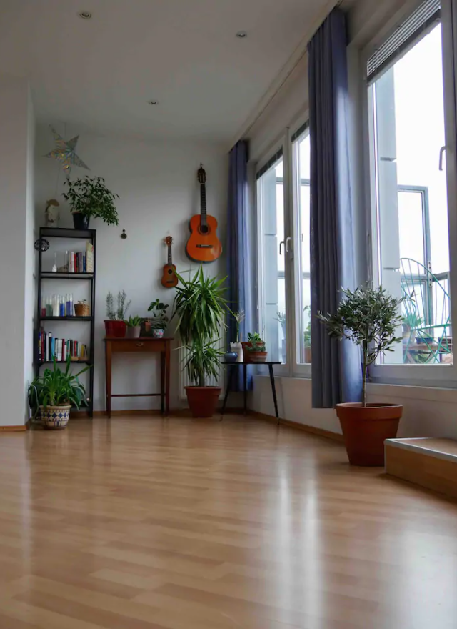 Penthouse Studio With Balcony In Modern Donau City