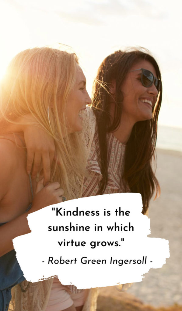 Image Caption: Kindness. Noun. 1. Loaning someone your ...  Kindness Captions