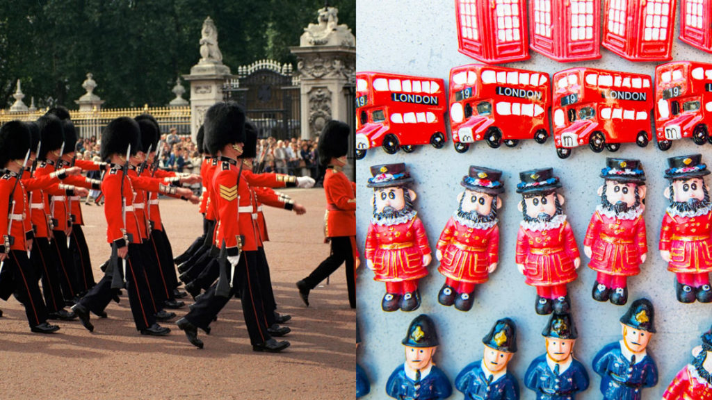 London Guards and Beefeaters