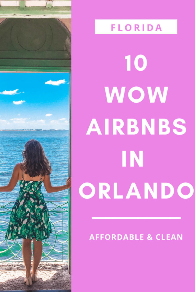Discover the best Airbnbs in Orlando! Vacation rentals close to Disney and Universal, short term rentals in at International Drive and there's even a Mickey Mouse themed apartment! Click to read the guide.