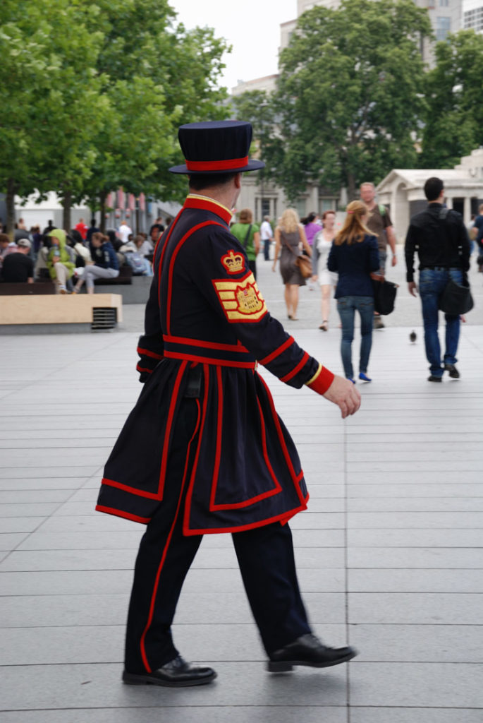 Tower of London Beefeater Guard