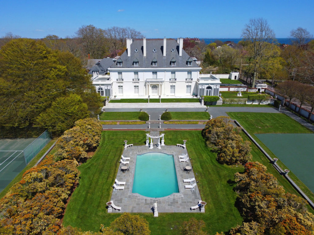 Newport RI Mansion Near Boston New England