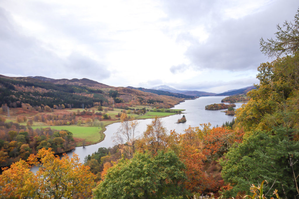 Queens View in Scotland