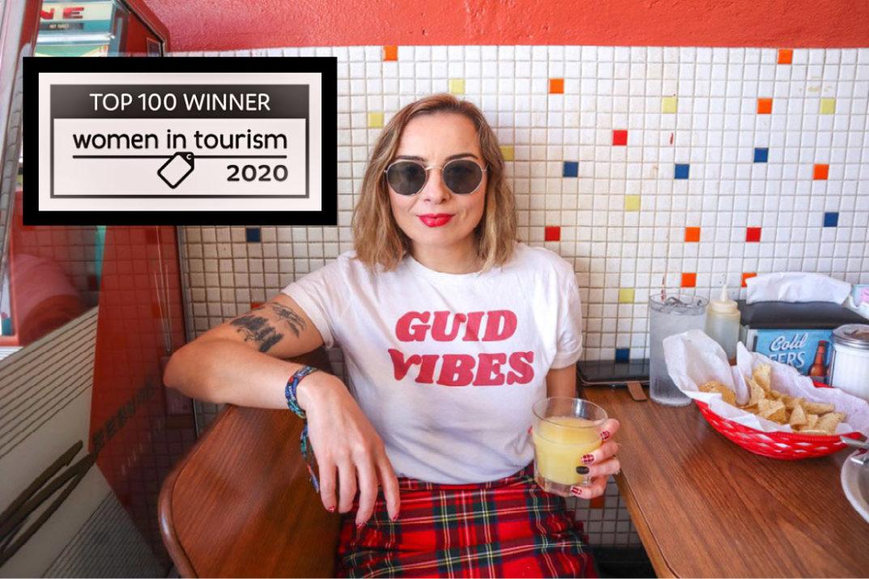 Top women in tourism winner