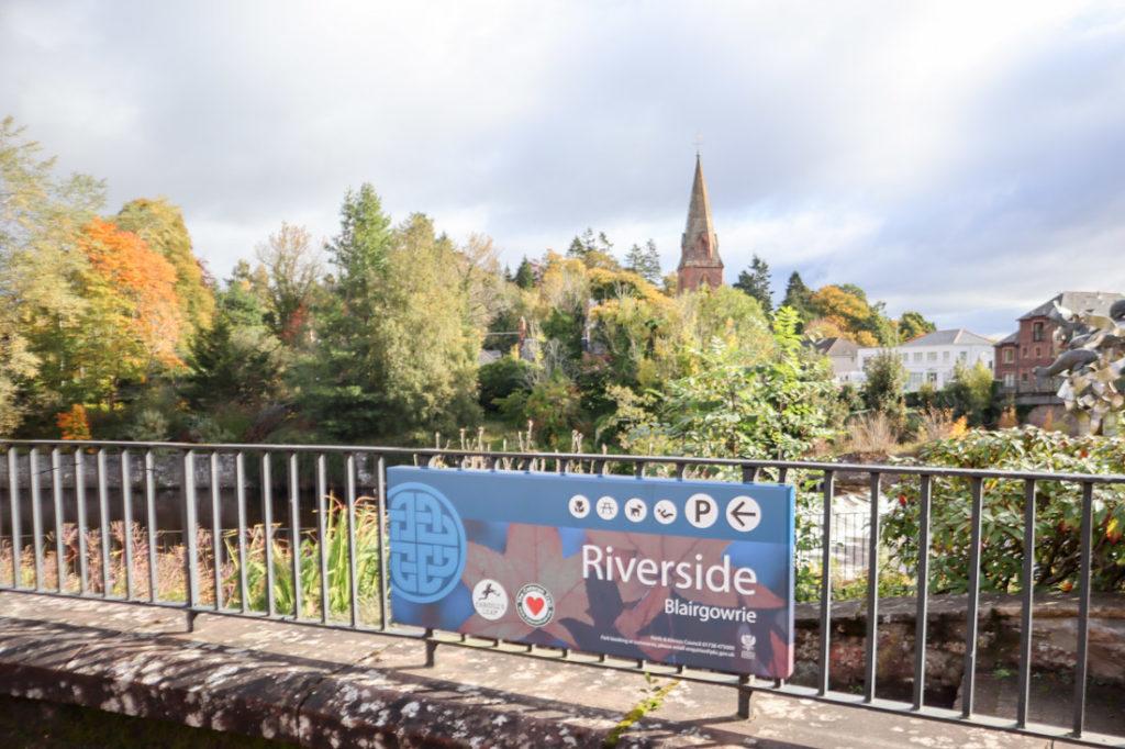 Blairgowrie riverside
