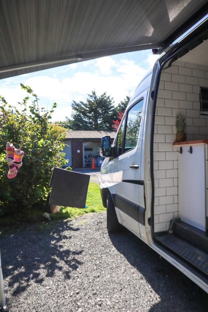Campsite South West Scotland