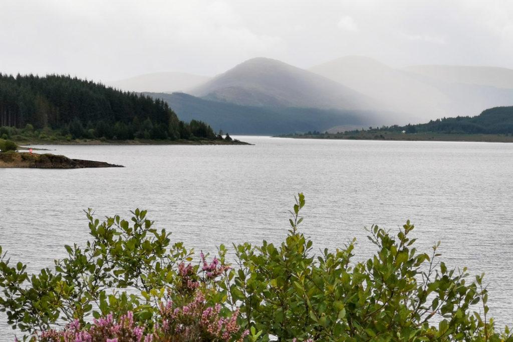 Loch Doon Galloway Forest Park South Scotland_