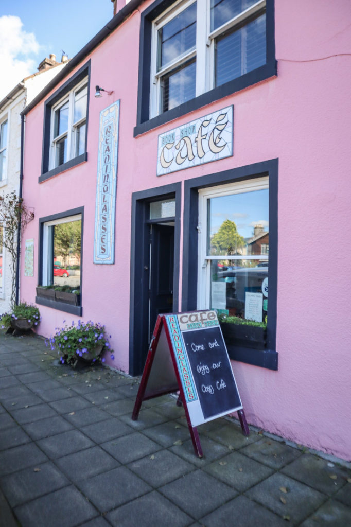 Readinglassies Book Shop in Wigtown Scotland