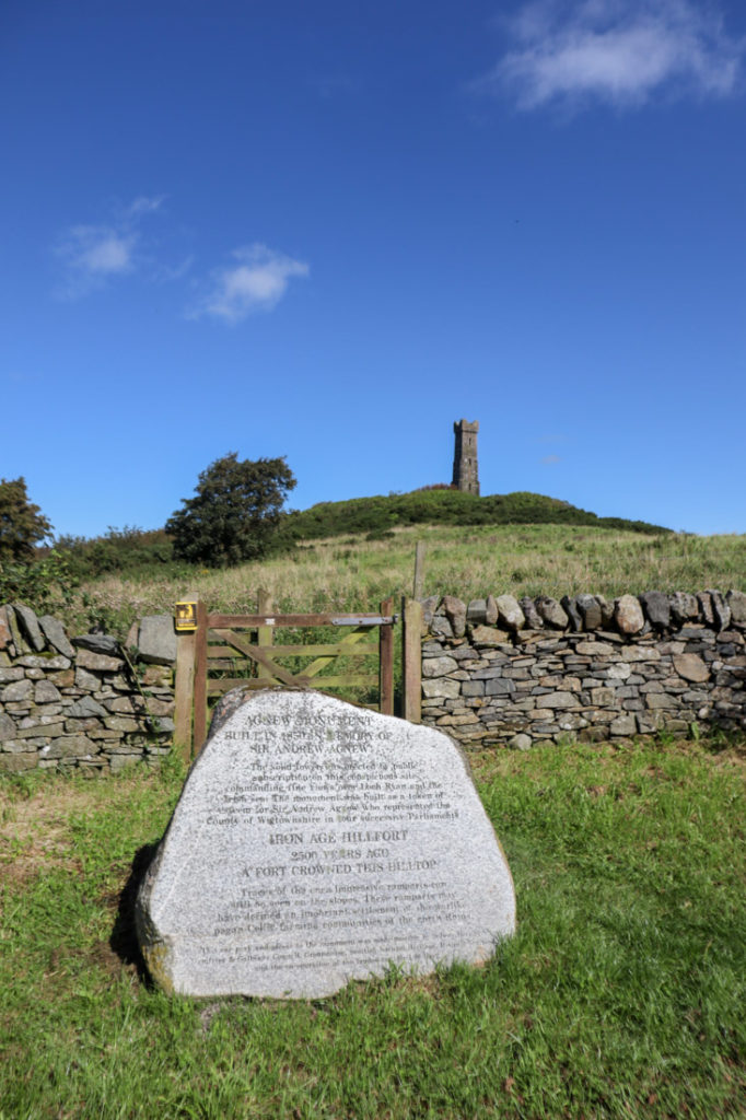 Tor of Craigoch Agnew Monument Stone South West in Scotland