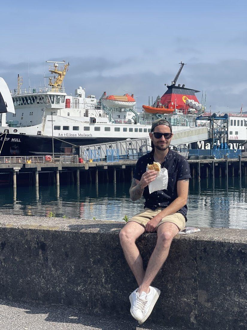 Craig Food CalMac Ferry Craignure Mull Scotland