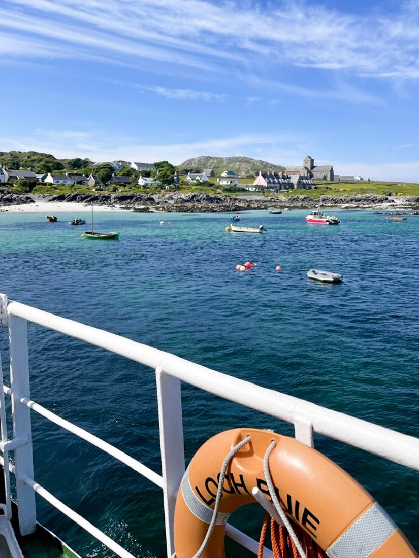 Iona Ferry Views Scotland