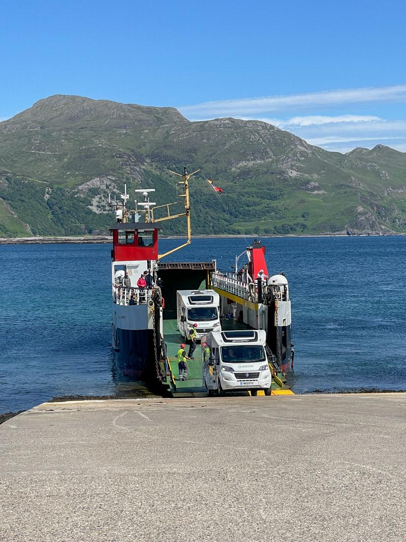 Kilchoan Ferry Ardnamurchan Scotland