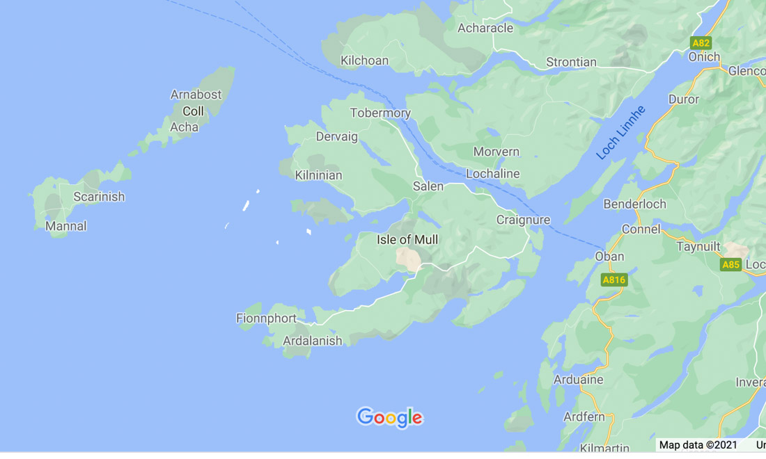 Mull Map
