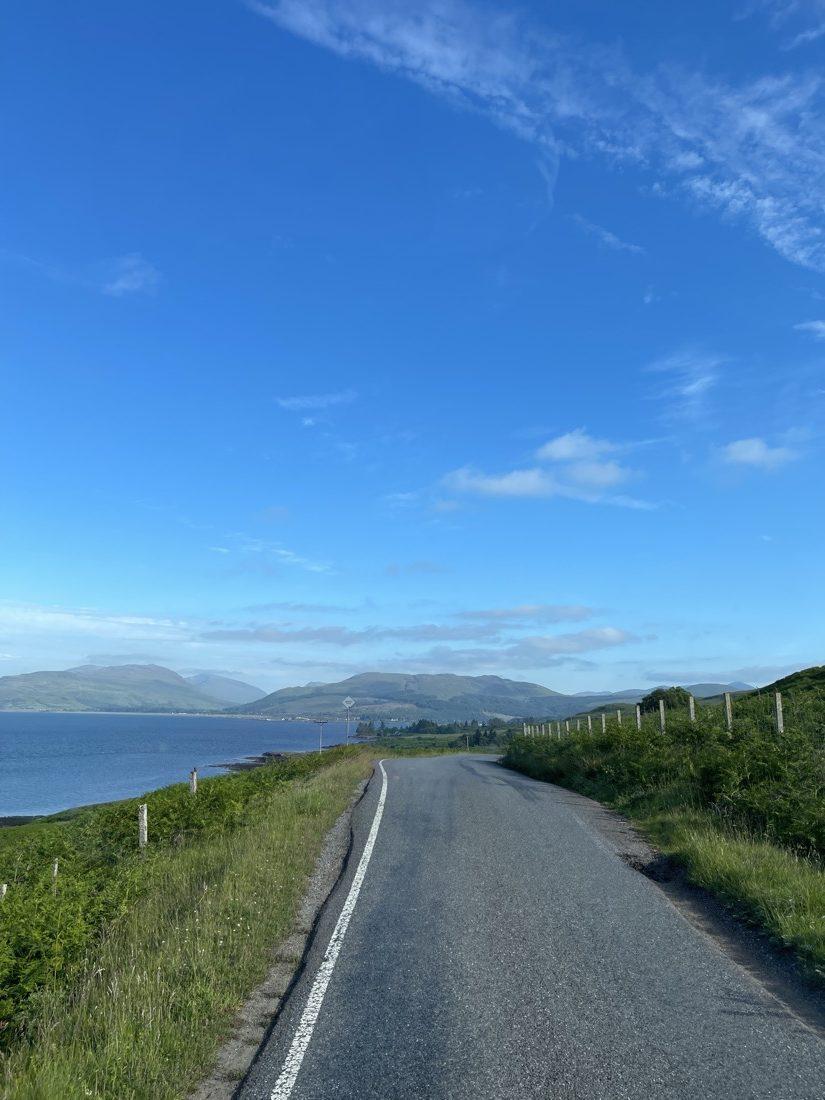 Mull Road Scotland