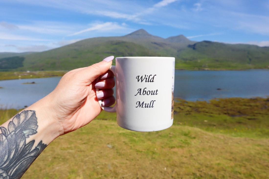 Pennyghael Stores Coffee Mug on Isle of Mull Scotland