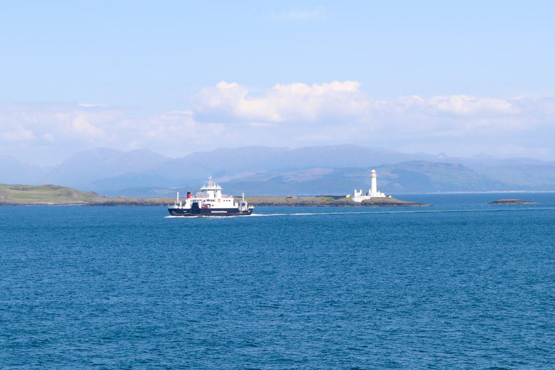 Rubha nan Gall Mull Lighthouse Scotland_