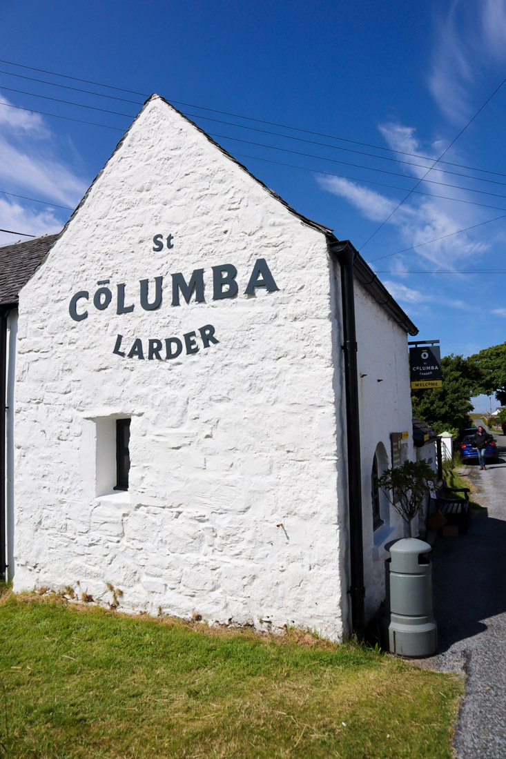 St Columba Larder Iona Scotland