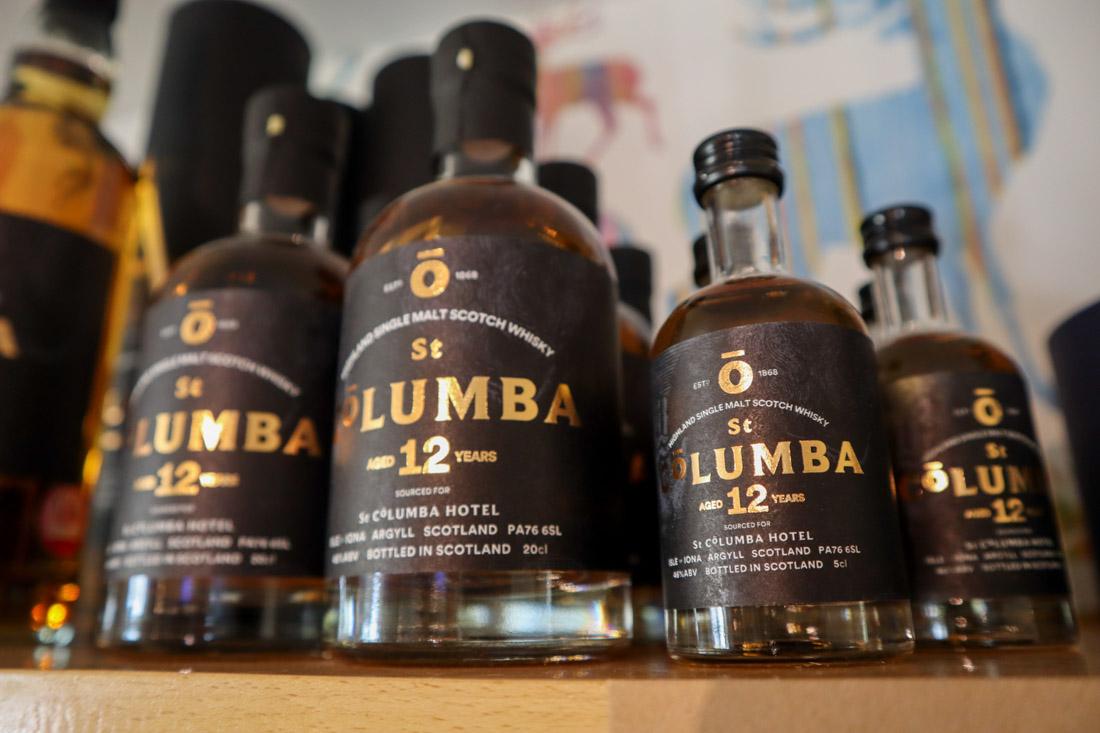 St Columba Whisky Iona Scotland