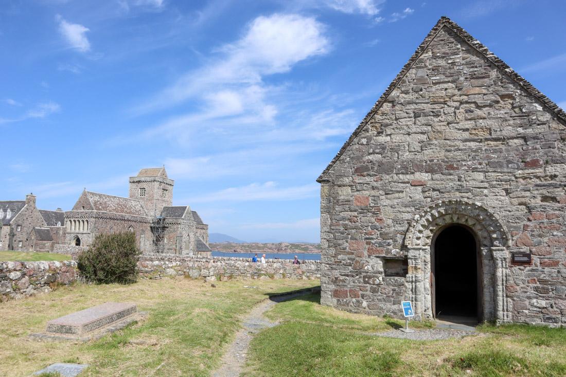 St Oban Chapel Iona Abbey Scotland