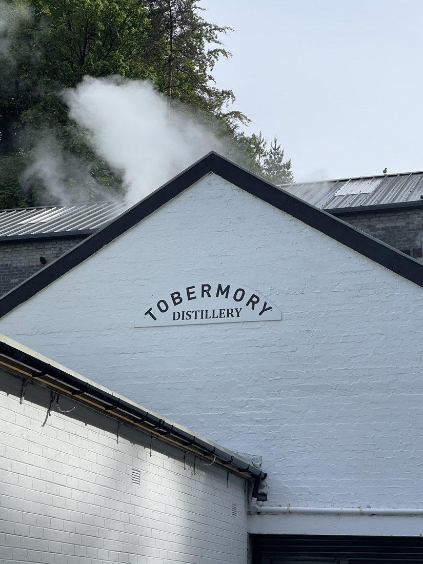 Tobermory Distillery Mull Scotland copy