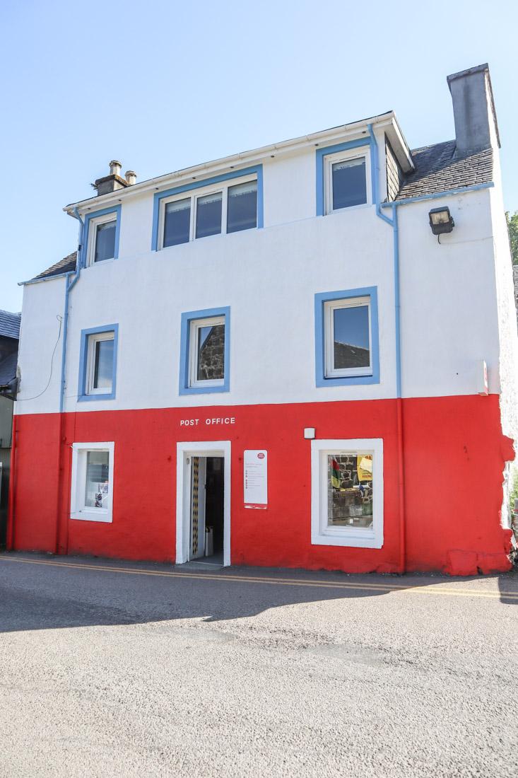 Tobermory Mull Post Office Scotland